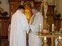 Pouť Panny Marie Karmelské. Loučení s panem farářem.  19. červenec 2009